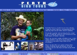 PERTH BIRD TOURS - OFFICIAL WEBSITE: Site designed by Epod for Perth Bird Tours.
