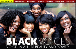BLACK VOICES AUSTRALIA - Official site, designed by Epod for Theatre Tours Australia