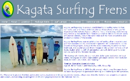 KAGATA SURFING FRENS - Official Website: Designed by Epod. Kagata Surfing Frens is a newly established local surfing network that connects you to different Solomon Islands village stays where you will experience the real and typical culture of living, interacting, and meeting new friends within smaller local families who live in the most remote parts of Solomon Islands, and at the same time surf the most crowd free and untouched waves of the islands.