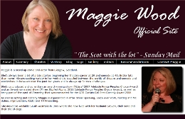 MAGGIE WOOD OFFICIAL WEBSITE: Site designed by Epod for comedian, writer, performer, Maggie Wood